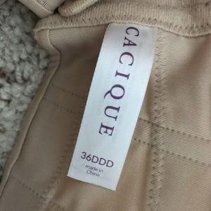 Cacique Intimates & Sleepwear - Cacique Nude Multi-way Strapless Bra